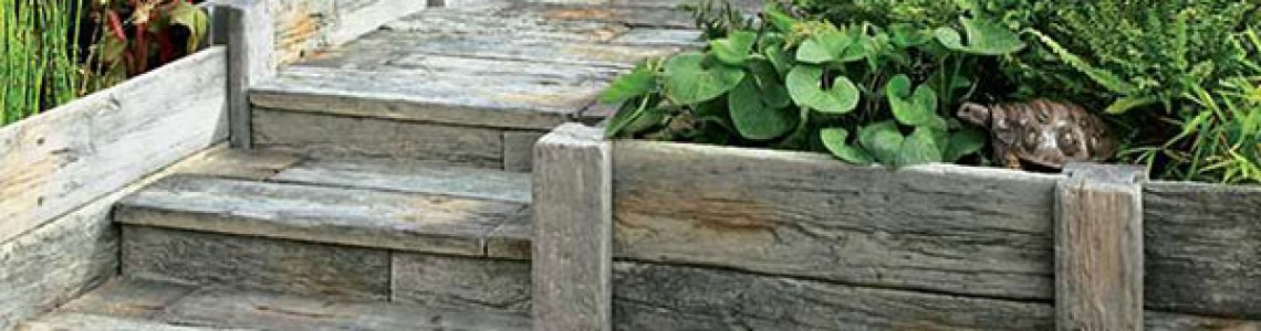 timberstone sleepers
