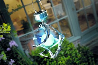 Solar Galaxy Wind Chime